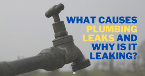 What Causes Plumbing Leaks and Why is it leaking